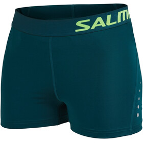 Salming Energy - Short running Femme - Bleu pétrole
